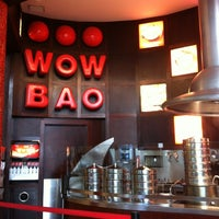 Photo taken at Wow Bao by Ines O. on 7/14/2012