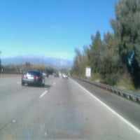 Photo taken at Fwy 210 East by Kevin C. on 2/4/2012
