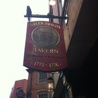 Photo taken at Green Dragon Tavern by Scott M. on 4/27/2012