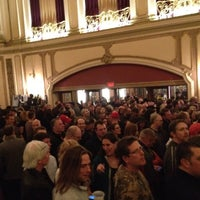 Photo taken at Palace Theatre by Amy L. on 3/3/2012