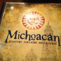 Photo taken at Michoacán Gourmet Mexican Restaurant by maria s. on 5/5/2012