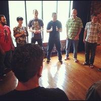 Photo taken at SAK Comedy Lab by Dan G. on 7/11/2012