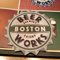 Photo taken at Boston Beer Works by pappas on 4/24/2012