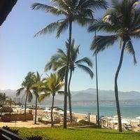 Photo taken at CasaMagna Marriott Puerto Vallarta Resort & Spa by Ramiro V. on 4/20/2012