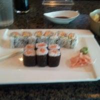 Photo taken at Okinawa- Sushi & Hibachi Steak House by Darrius T. on 4/5/2012