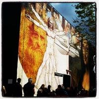 Photo taken at Exposición Da Vinci by Bella D. on 5/2/2012