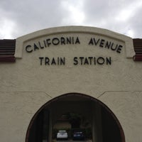 Photo taken at California Ave Caltrain Station by Kristopher W. on 7/17/2012