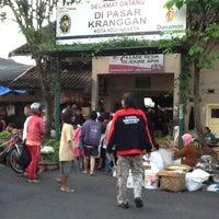 Photo taken at Pasar Kranggan by eko k. on 4/20/2012