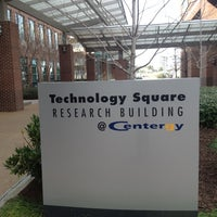 Photo taken at Tech Square Research Building (TSRB) by J.t. B. on 2/22/2012