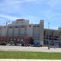 Photo taken at Memorial Stadium by Jill S. on 5/9/2012