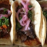 Photo taken at Oaxaca Taqueria by Danny T. on 8/7/2012