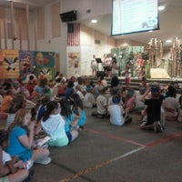 Photo taken at 2011 AMANDA VACATION BIBLE SCHOOL by staci c. on 7/13/2012