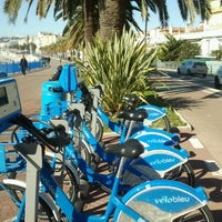 Photo taken at Vélo Bleu (Station No. 22) by Iarla B. on 2/16/2012
