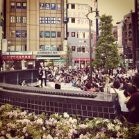 Photo taken at Kōenji Station by rentaro f. on 4/28/2012
