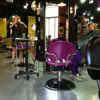 Photo taken at Liquid Hair Studios by Dana L. on 6/8/2012