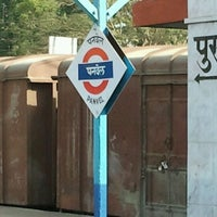 Photo taken at Panvel Railway Station by Krishna A. on 3/9/2012