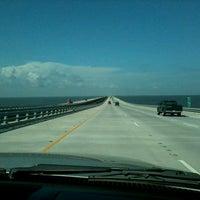 Photo taken at I-10 Twin Span Bridge by Felix S. on 7/27/2012