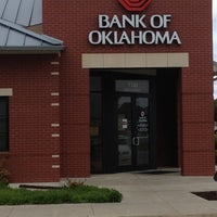 Photo taken at Bank of Oklahoma by A & J D. on 4/20/2012