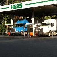 Photo taken at Hess Express by Deborah D. on 8/21/2012