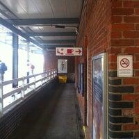 Photo taken at Hitchin Railway Station (HIT) by Kat M. on 5/15/2012