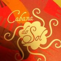 Photo taken at Restaurante Cabana do Sol by Fernanda O. on 4/26/2012