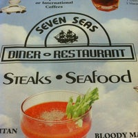 Photo taken at Seven Seas Diner by Samantha C. on 6/18/2012
