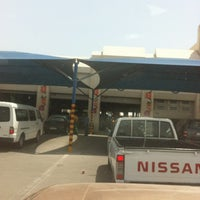 Photo taken at WOQOD Vehicles Inspection (FAHES) Industrial Area by Hsinou B. on 5/8/2012