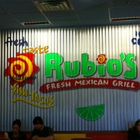 Photo taken at Rubio's by Cubby B. on 4/14/2012