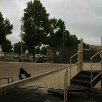 Photo taken at Kearny Mesa Recreation Center by Momsgosk8 on 5/23/2012