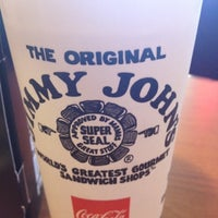 Photo taken at Jimmy John's by Al M. on 8/7/2012