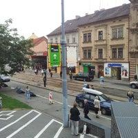 Photo taken at Anglické nábřeží (tram) by Petr Leo C. on 9/12/2012