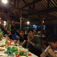 Photo taken at Saung Talaga by Hamid T. on 8/4/2012