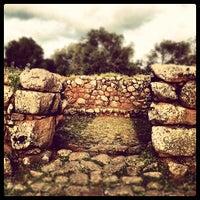 Photo taken at Parco Archeologico di Santa Cristina by Pinni on 4/22/2012