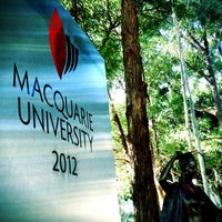 Photo taken at Macquarie University by Michelle W. on 6/30/2012