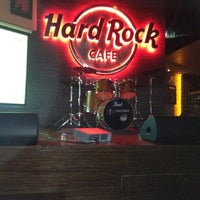 Photo taken at Hard Rock Cafe Hyderabad by Manny R. on 4/13/2012