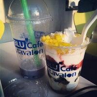 Photo taken at Blu Cafe by Sara S. on 4/30/2012