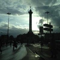 Photo taken at Café Bastille by Mourad Z. on 4/20/2012