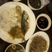 Photo taken at Carinderia Buffet by Bert C. on 2/18/2012