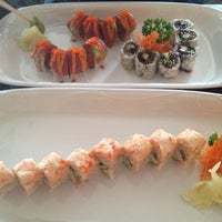 Photo taken at Yummy Sushi by MaryGrace on 5/14/2012