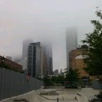 Photo taken at Tribeca Skate Park by Juan Enrique M. on 7/28/2012