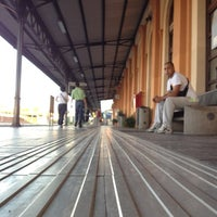 Photo taken at Stazione Lucca by Mauro C. on 7/17/2012