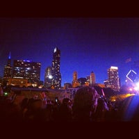 Photo taken at Lollapalooza Bud Light Stage by Dan M. on 8/6/2012