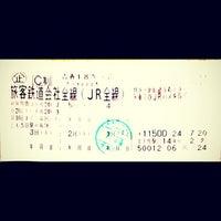 Photo taken at Higashi-Kanazawa Station by prototechno on 7/22/2012