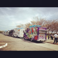 Photo taken at Food Truck Extravaganza by Niloufar G. on 4/18/2012