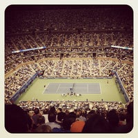 Photo taken at US Open Tennis Championships by Susan L. on 9/7/2012