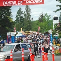 Photo taken at Taste Of Tacoma by Allysson A. on 7/1/2012