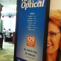 Photo taken at Vogue Optical by Marvin G. on 2/15/2012