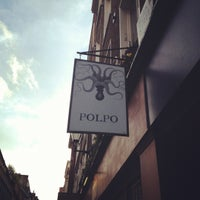 Photo taken at Polpo by Elisa T. on 4/20/2012
