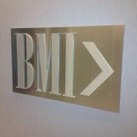 Photo taken at BMI New York by HypeDMG on 4/26/2012