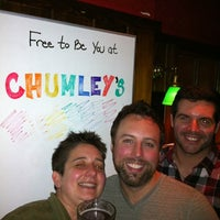 Photo taken at Chumley's by Joshua E. on 6/16/2012